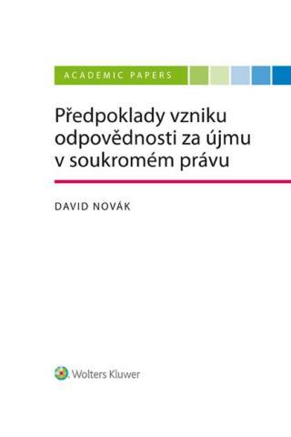 Předpoklady vzniku odpovědnosti za újmu v soukromém právu [E-kniha]